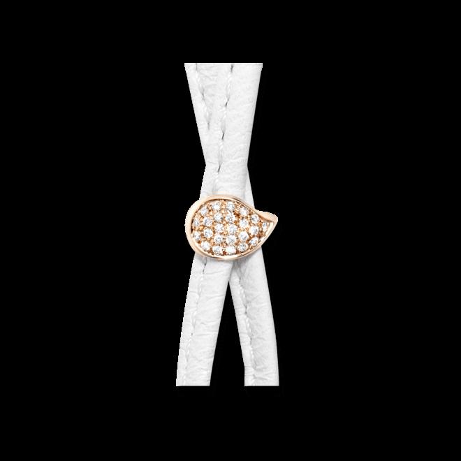 Schließe Tamara Comolli Drop Pavé aus 750 Roségold mit mehreren Brillanten (0,12 Karat)