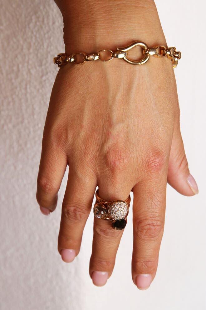 Armband Tamara Comolli Signature Drop Small aus 750 Roségold