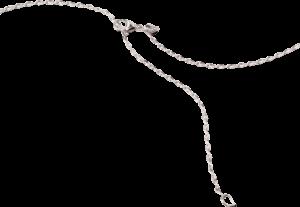 Halskette Tamara Comolli Eight Chain aus 750 Weißgold