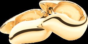 Ohrring Tamara Comolli Signature Huggies aus 750 Gelbgold