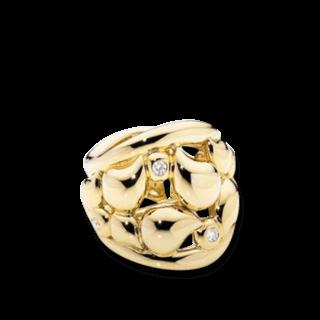 Tamara Comolli Ring Lace R-LAC-XL-YG