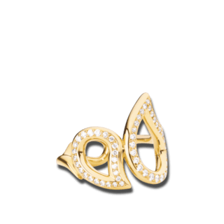 Tamara Comolli Ring Signature Medium R-SIG-PL-M-YG
