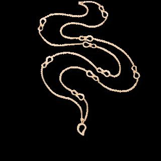 Tamara Comolli Halskette mit Anhänger Pavé N-SIG-PL-RG