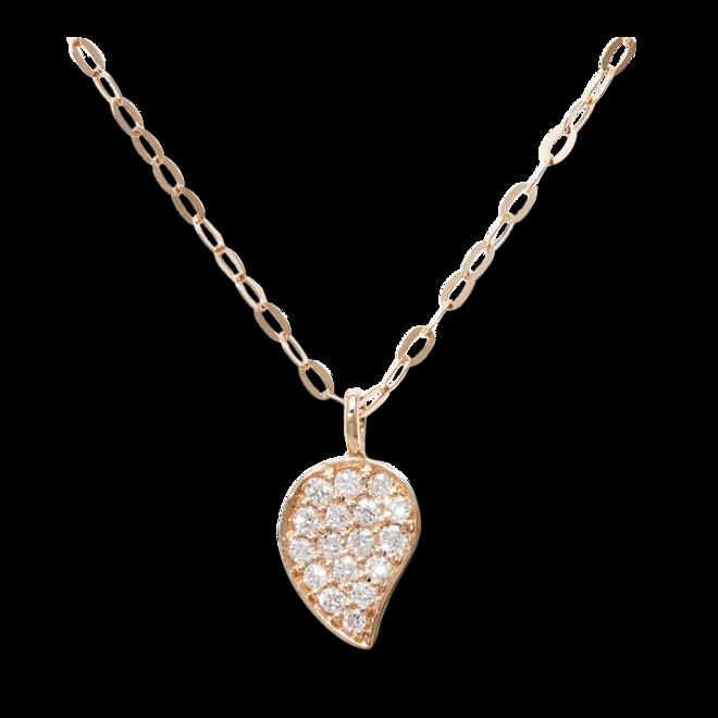 Halskette mit Anhänger Tamara Comolli Sparkle Chain aus 750 Roségold mit mehreren Brillanten (0,08 Karat) bei Brogle