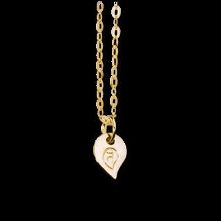 Tamara Comolli Halskette mit Anhänger Sparkle Chain C-SPA-1-YG-42