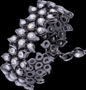 Armband Tamara Comolli Snowflakes aus 750 Weißgold mit mehreren Diamanten (12,2 Karat)