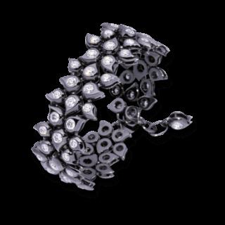 Tamara Comolli Armband Snowflakes BA-SF-CL-WGB