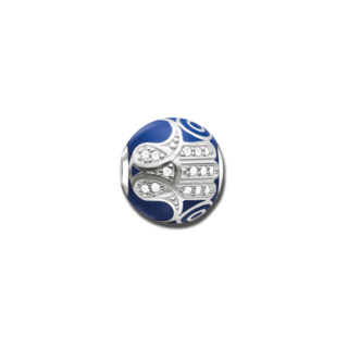 Thomas Sabo Bead Blaue Fatimas Hand K0207-041-32