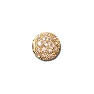 Thomas Sabo Bead Crushed Pavé Gold K0098-414-3