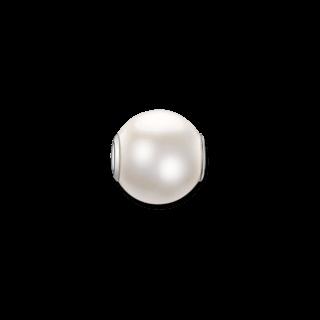 Thomas Sabo Bead Große weiße Perle K0083-082-14