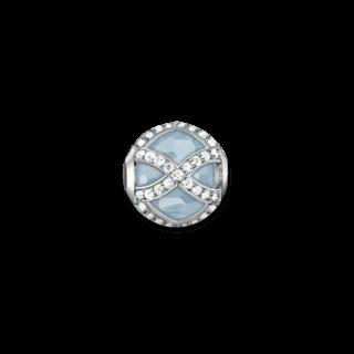 Thomas Sabo Bead Maharani Milky Aqua K0145-694-31