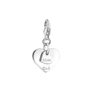 Thomas Sabo Charm Herzen - Mom & Dad 1452-001-21