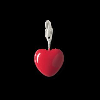 Thomas Sabo Charm Rotes Herz groß 0016-007-10