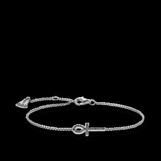 Thomas Sabo Armband Ägyptisches Lebenskreuz A1526-643-11-L19.5V