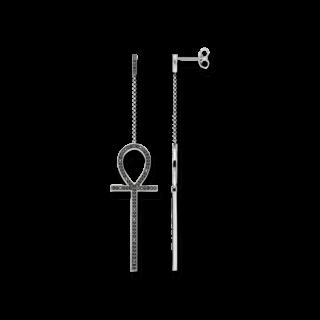 Thomas Sabo Ohrstecker Ägyptisches Lebenskreuz H1920-643-11