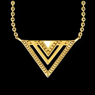 Thomas Sabo Halskette Afrika Dreieck KE1568-413-39-L45V