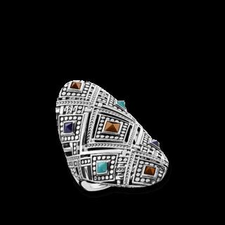 Thomas Sabo Ring Afrika Ornamente TR2128-361-7