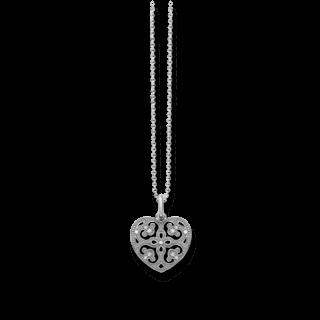 Thomas Sabo Halskette mit Anhänger Arabesque-Herz KE1557-051-14-L45V