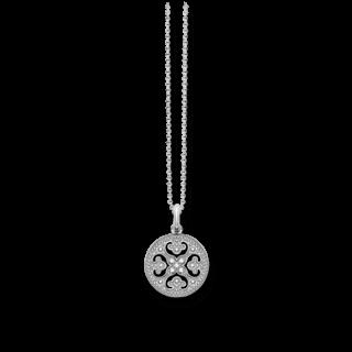 Thomas Sabo Halskette mit Anhänger Arabesque-Scheibe KE1555-051-14-L45V