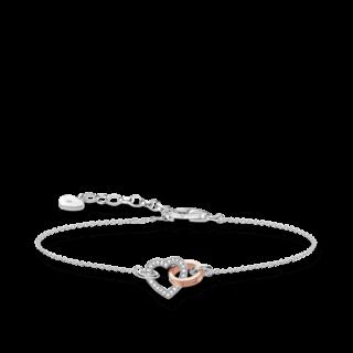 Thomas Sabo Armband mit Anhänger Glam & Soul D_A0032-095-14-L19V