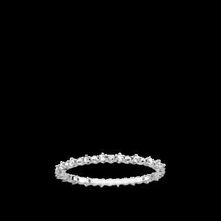 Thomas Sabo Ring Dots mit weissen Steinen TR2153-051-14