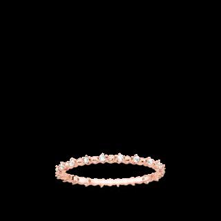 Thomas Sabo Ring Dots mit weissen Steinen TR2153-416-14