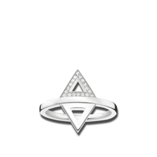 Thomas Sabo Ring Dreieck D_TR0019-725-14