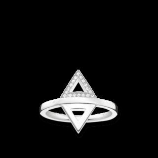 Thomas Sabo Ring Dreieck D_TR0019-725-14