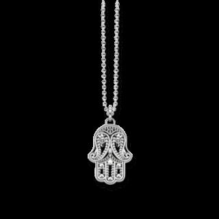 Thomas Sabo Halskette mit Anhänger Hand der Fatima KE1544-001-12-L45V