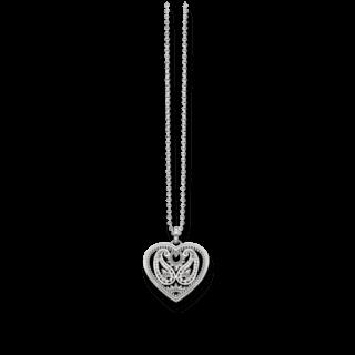 Thomas Sabo Halskette mit Anhänger Herz-Amulett KE1542-001-12-L45V