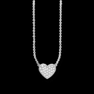 Thomas Sabo Halskette mit Anhänger Herz KE1547-051-14-L45V