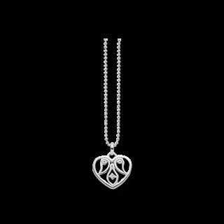 Thomas Sabo Halskette mit Anhänger Herz Ornametik D_KE0018-725-21-L45V