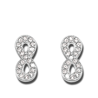 Thomas Sabo Ohrstecker Infinity of Love H1877-051-14
