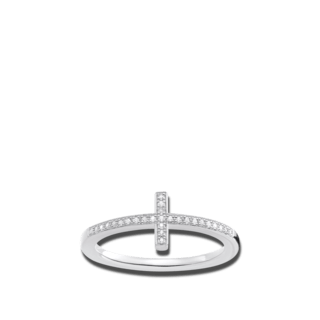 Thomas Sabo Ring Kreuz D_TR0028-725-14