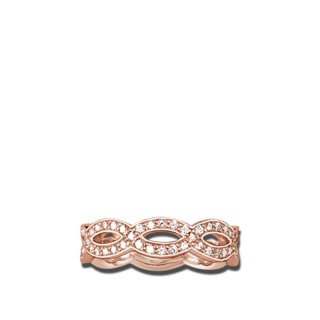 Thomas Sabo Ring Love Knot TR1973-416-14