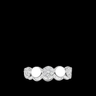 Thomas Sabo Ring Sparkling Circles TR2048-051-14