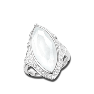 Thomas Sabo Ring The Purity of Lotos TR2041-690-14