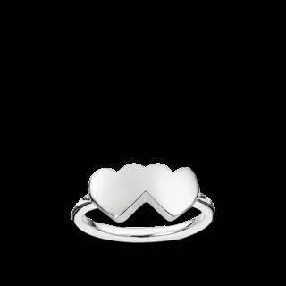 Thomas Sabo Ring Verschmolzene Herzen TR2081-001-12
