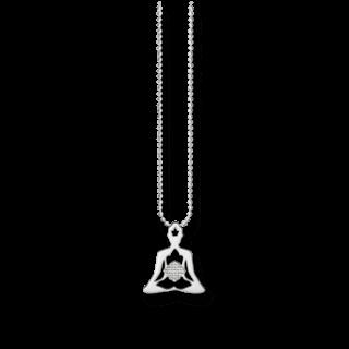 Thomas Sabo Halskette mit Anhänger Yoga KE1545-001-12-L45V