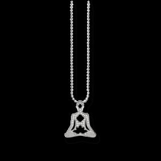 Thomas Sabo Halskette mit Anhänger Yoga KE1546-051-14-L45V