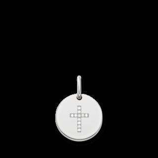 Thomas Sabo Anhänger Kreuz Scheibe LBPE0007-051-14