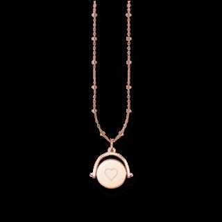 Thomas Sabo Halskette mit Anhänger Spinning Coin LBKE0003-415-12-L45V