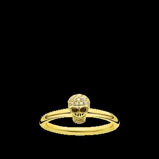 Thomas Sabo Ring Totenkopf D_TR0030-924-39