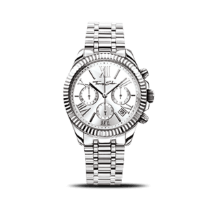 Thomas Sabo Damenuhr Divine Chrono WA0253-201-201-38MM