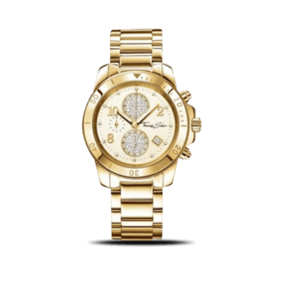 Thomas Sabo Damenuhr Glam Chrono WA0191-264-207-40MM