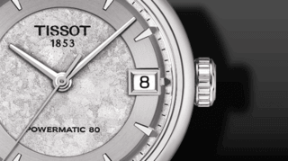 Tissot Luxury Automatic Jungfraubahn Lady