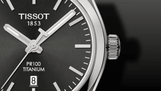 Tissot PR 100 Quartz Lady Titanium