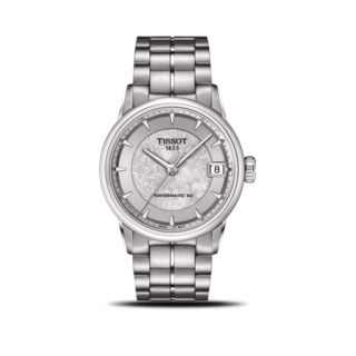 Tissot Damenuhr Luxury Automatic Jungfraubahn Lady T086.207.11.031.10