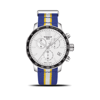 Tissot Herrenuhr Quickster NBA Teams Golden State Warriors T095.417.17.037.15