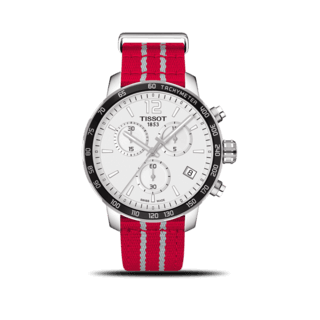 Tissot Herrenuhr Quickster NBA Teams Houston Rockets T095.417.17.037.12
